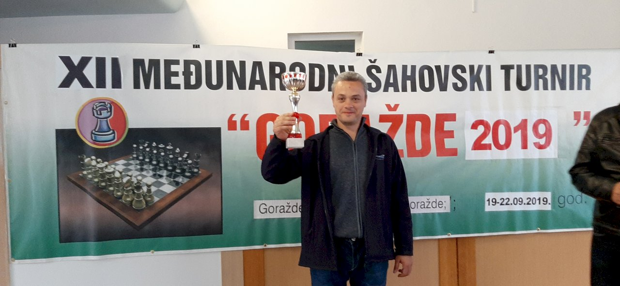 "12th International Chess Tournament ""Goražde 2019"" - Completed"